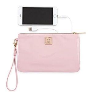 NWT Liz Claiborne | Universal Charging Pink Wallet